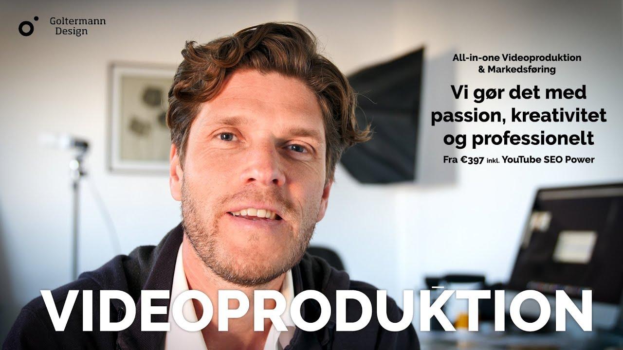 Videoproduktion, video seo, videomarketing, videomarkedsføring