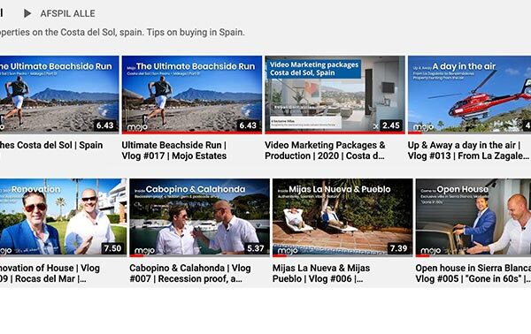 Real Estate Video Marbella – Increase and Promote on the international market in 2021!