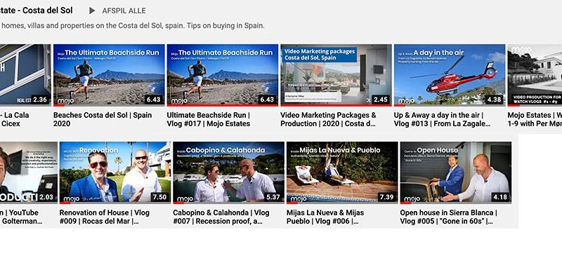 Real Estate Video Marbella